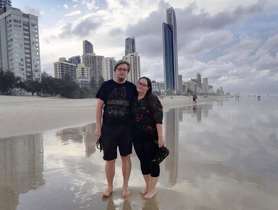 Noora and me in Gold Coast
